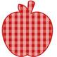 Gingham Apples