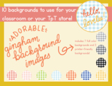 Gingham Backgrounds