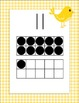 Gingham Birdie Number Wall Posters With Ten Frames, 0-20