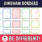 Gingham Borders Clipart
