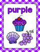 Gingham Color Posters- Classroom Decor