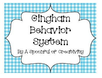 Gingham Design Behavior System