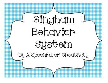 Gingham Design Behavior System