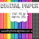 Gingham Digital Paper
