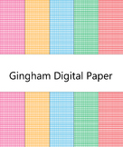 Digital Paper-Gingham