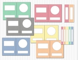 Gingham Editable Classroom Binder & Spine Inserts - 12 Covers