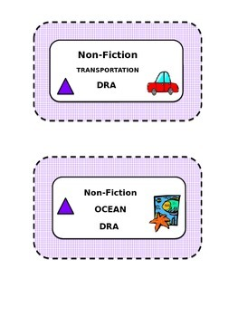 Gingham Editable Classroom Library Labels