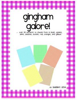 Gingham Galore!