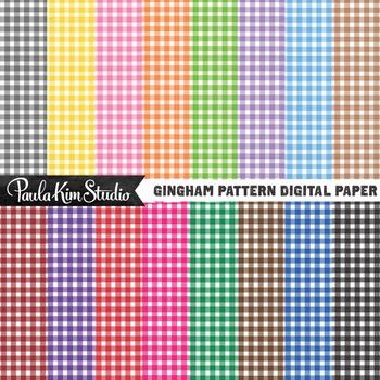 Digital Paper - Gingham