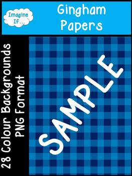 Backgrounds-Gingham Style