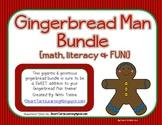 Ginormous Gingerbread Themed Bundle {Math, Literacy & FUN!}