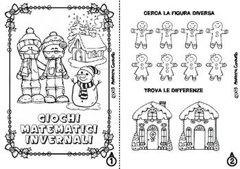 Giochi Natale.Giochi Matematici Di Natale By Maestra Consuelo Tpt
