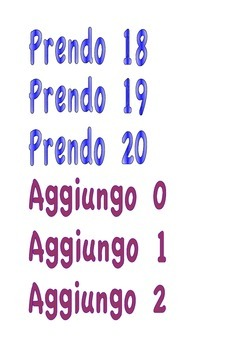 Gioco Macchina cambia numeri - Math game The magic number machine - Italian