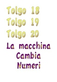 Gioco Macchina cambia numeri - Math game The magic number