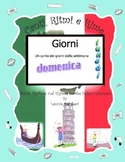 The Italian Days of the Week (Giorni) with Rap-like Chant and MP3