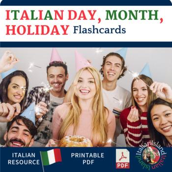 Giorni, Mesi e Feste Flashcards