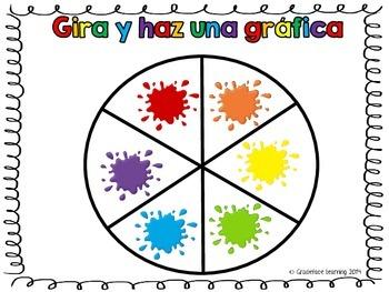 Gira y haz una gráfica - Los colores