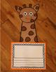 Giraffe Craft and Writing