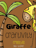 Giraffe Craftivity--a freebie