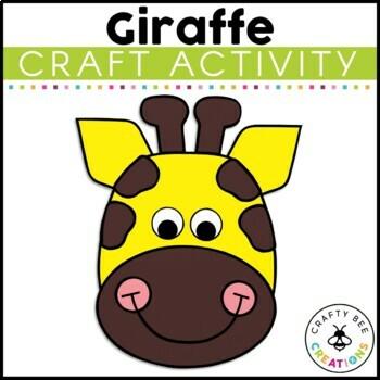 Giraffe Cut and Paste