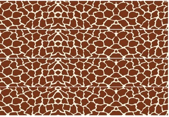 Giraffe Cut out Borders