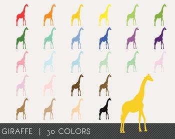 Giraffe Digital Clipart, Giraffe Graphics, Giraffe PNG