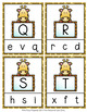 Giraffe Letter Match Clip Cards