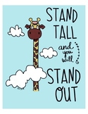 Illustrated inspirational posters. ****GROWING PPT****
