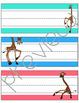 Giraffe Name Plates for Desks
