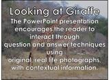 African Animals: Giraffe - PDF presentation