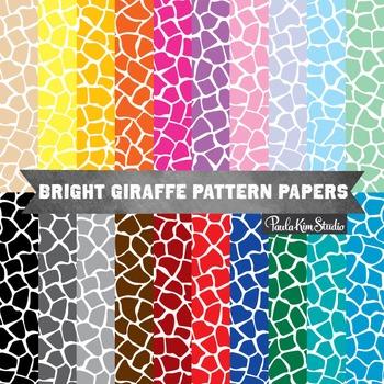 Digital Paper - Giraffe