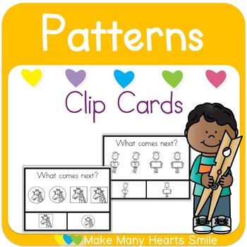 Giraffe Patterns Clip Cards
