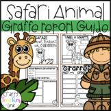 Giraffe Research Report Printables (Safari Animal)