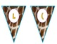 Giraffe-Safari Welcome Pennants