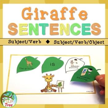 Giraffe Sentences