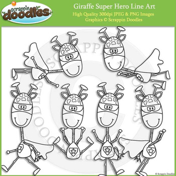 Giraffe Super Hero