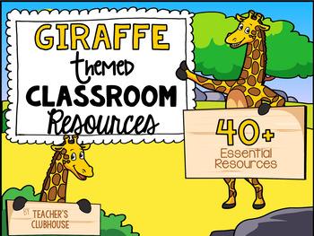 Giraffe Theme Decor Pack