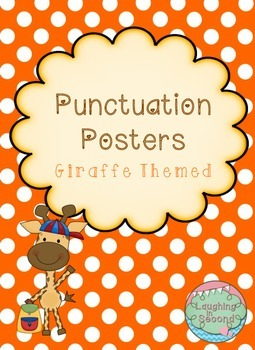 Giraffe Themed - Punctuation Posters