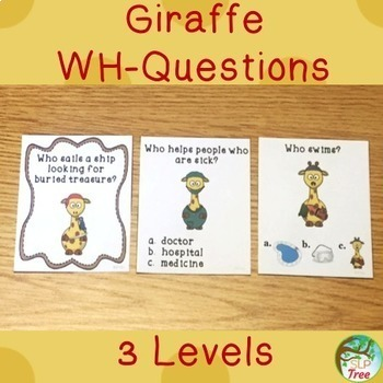 Giraffe Speech and Language Bundle