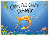 Giraffe can't dance! Literacy flipchart