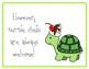 Giraffe neck/Turtle shell posters (mallet technique reinforcement)