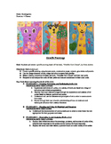 Giraffe's Can Dance Painting