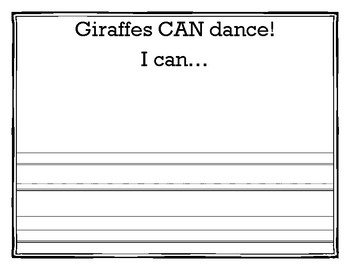 Giraffes Can dance