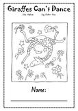 Giraffes Can't Dance! - Activity Sheets (Grammar Focus)