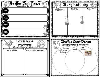 Giraffes Can't Dance (Book Companion)