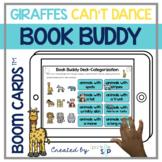 Giraffes Can't Dance Book Companion   Boom Cards™️ Deck  