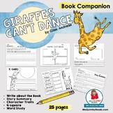Giraffes Can't Dance | Book Companion | Reader Response | Children's Literature