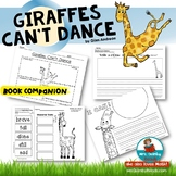 Giraffes Can't Dance | Book Companion | Distance Learning | Reading