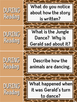 Giraffes Can't Dance Book Study by Giles Andreae