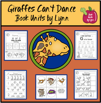 Giraffes Can't Dance Book Unit
